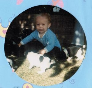 Matt has been around puppies his entire life